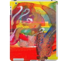 Vermillion Canoe and the Principles of Breath iPad Case/Skin