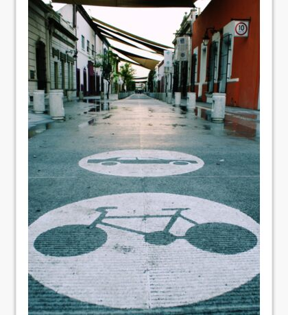 Mobility alley Sticker