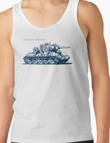 T-34 Russian Caravan Tank Top