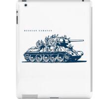 T-34 Russian Caravan iPad Case/Skin