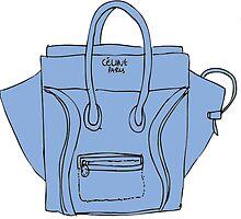 Blue bag by whatkimydid