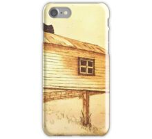 The Old Berrima Garage - Original Pyrography iPhone Case/Skin