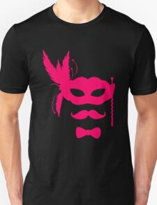 host party mask with mustache T-Shirt