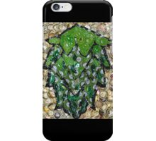 The Hops made of Beer Caps - Bottle Cap Mosaic iPhone Case/Skin