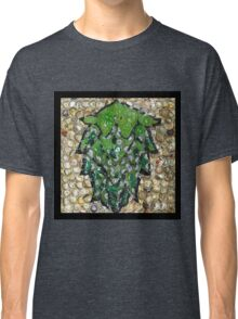 The Hops made of Beer Caps - Bottle Cap Mosaic Classic T-Shirt