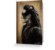 Lexa Profile View  Greeting Card