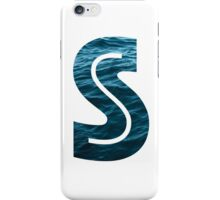 "The Letter ""S"" Ocean iPhone Case/Skin"
