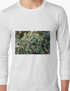 Curled Dried Blue Hydrangea Macro T-Shirt