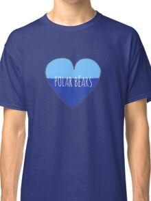 Stranded Polar Bear Love Classic T-Shirt