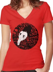 Unforeseen Truth. Women's Fitted V-Neck T-Shirt