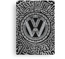 Aztec Wagon Canvas Print