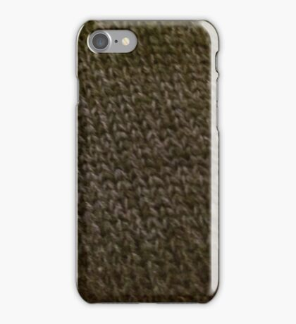 Knitted chainmail iPhone Case/Skin