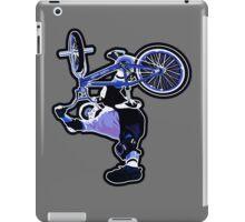 BMX Freestyle in mid air iPad Case/Skin
