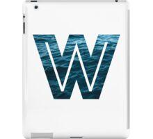 """The Letter """"W"""" Ocean iPad Case/Skin"""