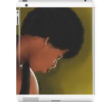 Georgia Anne Muldrow Portrait  iPad Case/Skin