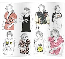 Larry Fashion Poster