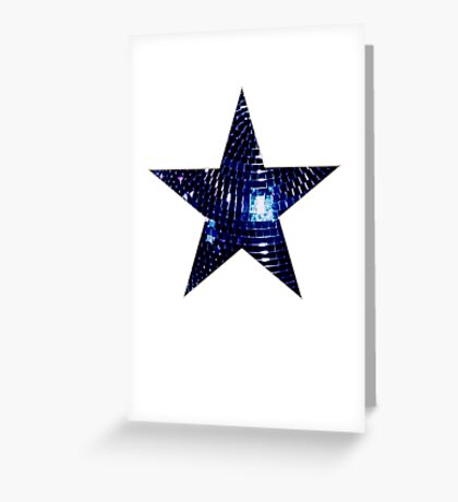 Disco Star Greeting Card