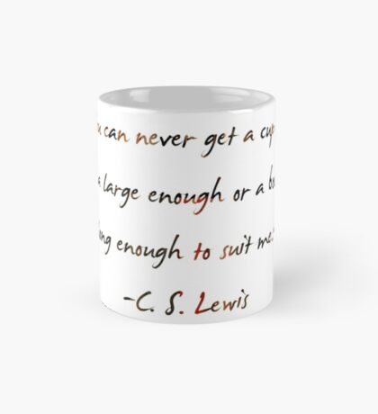 C. S. Lewis On Books Mug