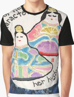 Japanese Hina Dolls (Emperor Doll and Empress Doll) Graphic T-Shirt