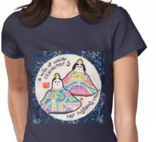 Japanese Hina Dolls (Emperor Doll and Empress Doll) Womens Fitted T-Shirt