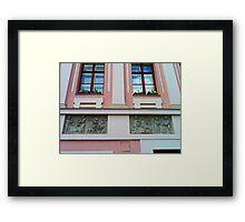 Hikisch House, Budapest, Hungary. Framed Print