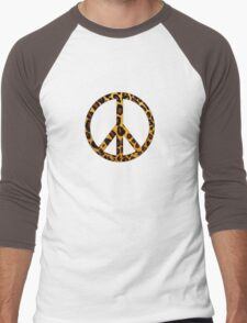 Peace Pussycat  Men's Baseball ¾ T-Shirt