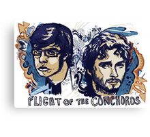 Flight of the Conchords Canvas Print