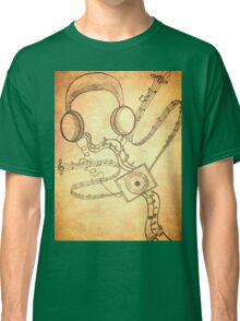 Headphone soothe (vintage type) Classic T-Shirt