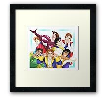 Silly Princes Framed Print