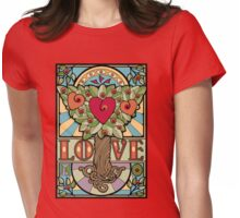Love Has Roots Womens Fitted T-Shirt