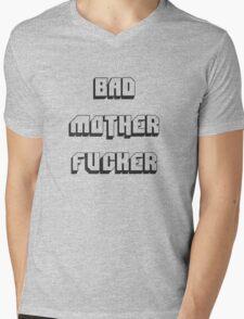 BAD MOTHER FUCKER 2 Mens V-Neck T-Shirt