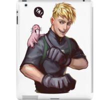 Badass Ron Stoppable x Rufus iPad Case/Skin