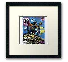2000 AD Framed Print