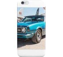 Classic Chevy Chevrolet Convertible iPhone Case/Skin