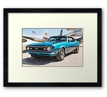 Classic Chevy Chevrolet Convertible Framed Print