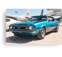 Classic Chevy Chevrolet Convertible Canvas Print
