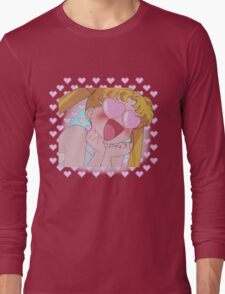 Sailor Moon in Love Long Sleeve T-Shirt