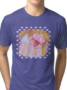 Sailor Moon in Love Tri-blend T-Shirt