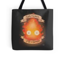 All mighty fire demon Tote Bag