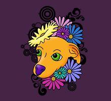 Flower Child Chihuahua Unisex T-Shirt