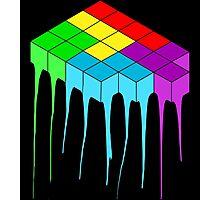 Tetris Melt 3 Photographic Print