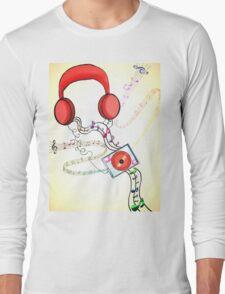 Headphone soothe  Long Sleeve T-Shirt
