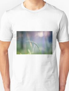 Ear with nature abstract background Unisex T-Shirt