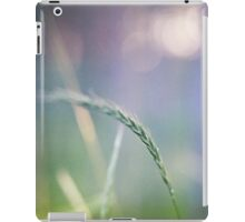 Ear with nature abstract background iPad Case/Skin