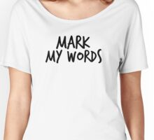 Justin Bieber - Mark my words Women's Relaxed Fit T-Shirt