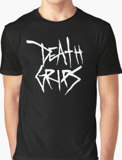 Death Grips (White Logo) Graphic T-Shirt