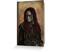 Wanheda Greeting Card