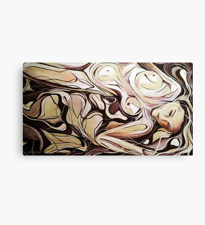 Woman Dreaming Canvas Print