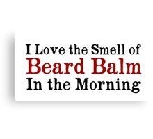 Beard Balm Canvas Print