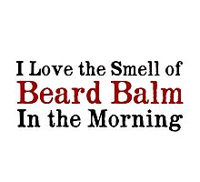 Beard Balm Photographic Print